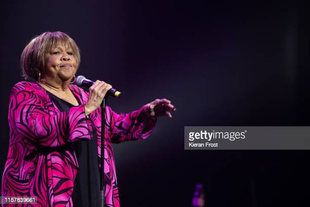 Mavis Staples performs on stage at Olympia Theatre on June 23 2019 in Dublin Ireland