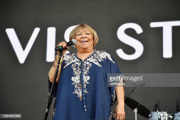 Mavis Staples performs on the Rock Stage during day 3 of Grandoozy on September 16 2018 in Denver Colorado