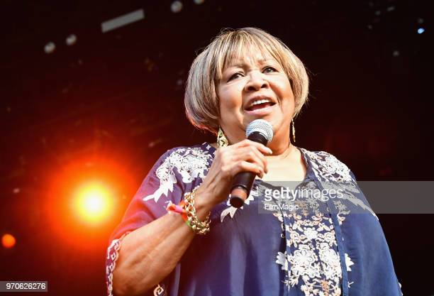 Mavis Staples performs on Which Stage during day 3 of the 2018 Bonnaroo Arts And Music Festival on June 9 2018 in Manchester Tennessee