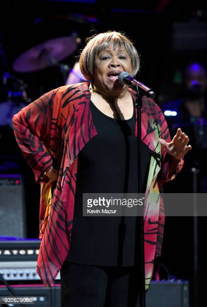 Mavis Staples performs onstage at the Second Annual LOVE ROCKS NYC A Benefit Concert for God's Love We Deliver at Beacon Theatre on March 15 2018 in...