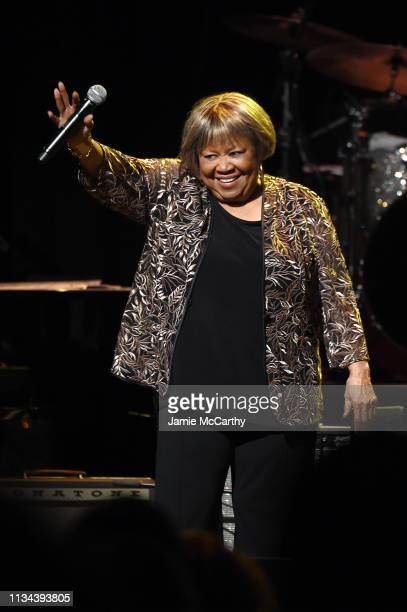 Mavis Staples performs onstage during the Third Annual Love Rocks NYC Benefit Concert for God's Love We Deliver on March 07 2019 in New York City