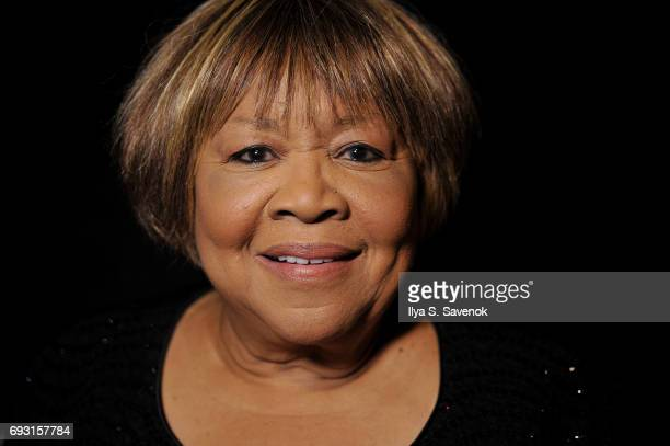Mavis Staples poses during 2017 Gordon Parks Foundation Awards Gala at Cipriani 42nd Street on June 6 2017 in New York City