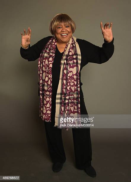 Mavis Staples poses for a portrait during I'll Take You There Celebrating 75 Years Of Mavis Staples at Auditorium Theatre on November 19 2014 in...