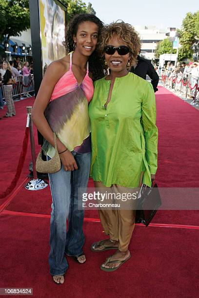 Mavis Woodard and Alfre Woodard during DreamWorks Pictures' Dreamer Inspired by a True Story Los Angeles Premiere Red Carpet at Mann Village Theatre...