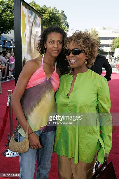 Mavis Woodard and Alfre Woodard during DreamWorks Pictures' 'Dreamer Inspired by a True Story' Los Angeles Premiere Red Carpet at Mann Village...