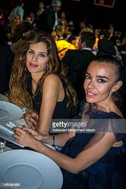 Maïwenn Le Besco and Elodie Bouchez, photographed at the amfAR Cinema Against AIDS gala, for Paris Match on May 24 in Cap d'Antibes, France.