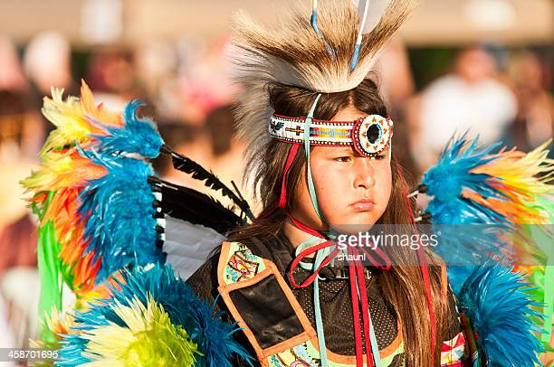 mawio'mi dancer - first nations stock pictures, royalty-free photos & images