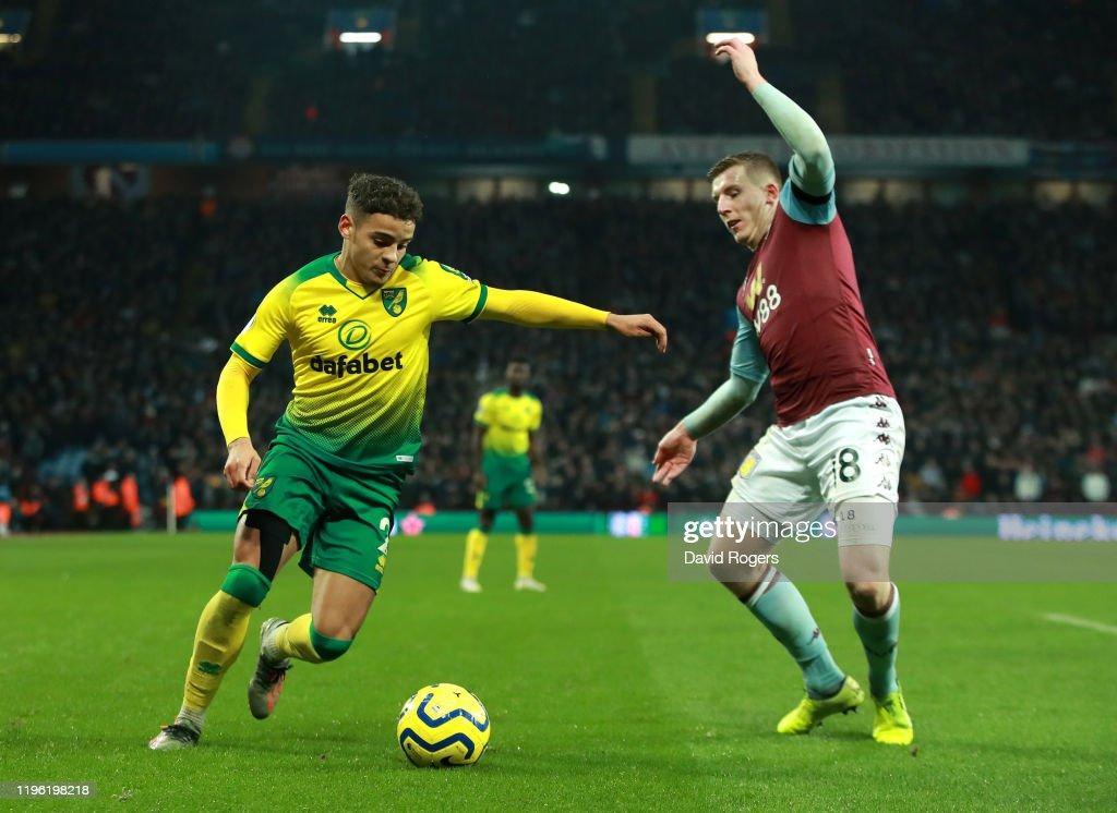 Aston Villa v Norwich City - Premier League : ニュース写真
