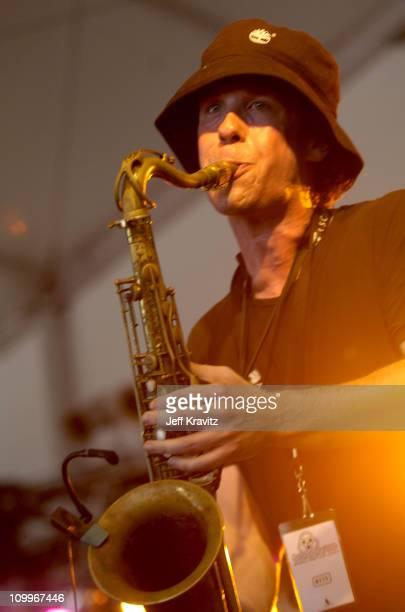 Max Abrams of JoJo & His Mojo Mardi Gras Band during Bonnaroo 2004 - Day 1 - JoJo & His Mojo Mardi Gras Band at Centeroo Performance Fields - The...