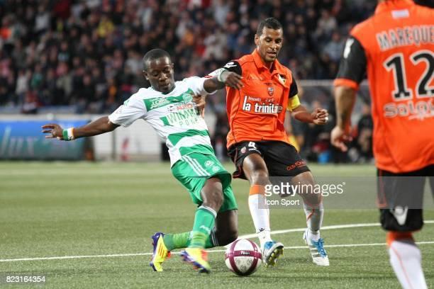 Max Alain GRADEL / Alaixys ROMAO Lorient / Saint Etienne 6e journee Ligue 1