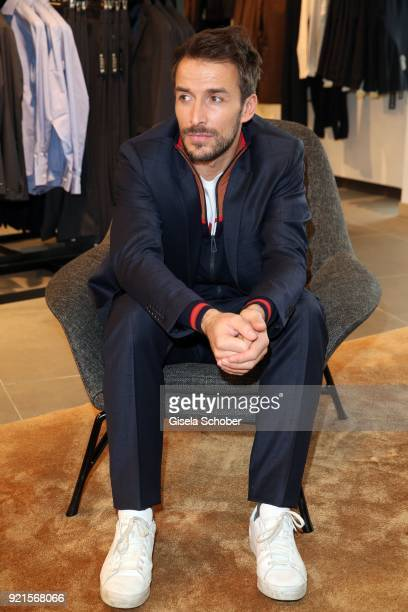 Max Alberti during the 'Maison des Fleurs' photo session at KONEN on February 20 2018 in Munich Germany