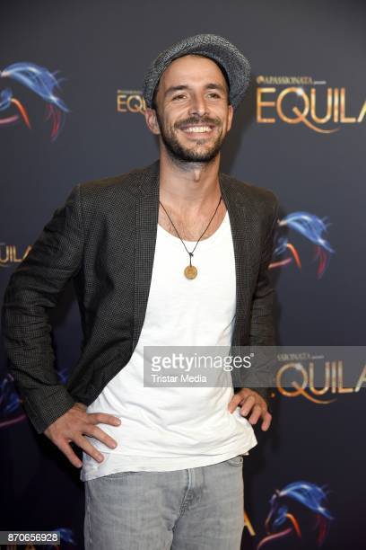 Max Alberti during the world premiere of the horse show 'EQUILA' at Apassionata Showpalast Muenchen on November 5 2017 in Munich Germany