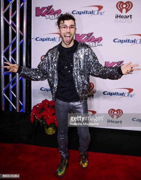 Max attends KISS 108's Jingle Ball 2017 presented by Capital One at TD Garden on December 10 2017 in Boston Mass