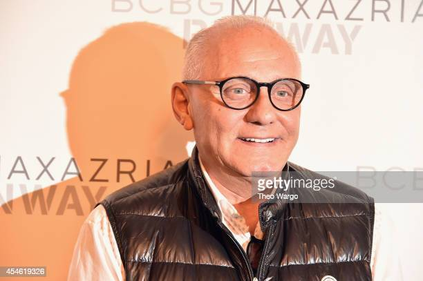 Max Azaria attends BCBGMAXAZRIA during MercedesBenz Fashion Week Spring 2015 at The Theatre at Lincoln Center on September 4 2014 in New York City