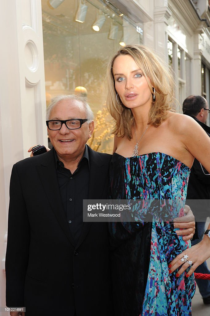 Max Azria and Marsha Markova attend the store launch party for BCBGMAXAZRIA on King's Road on May 27, 2010 in London, England.
