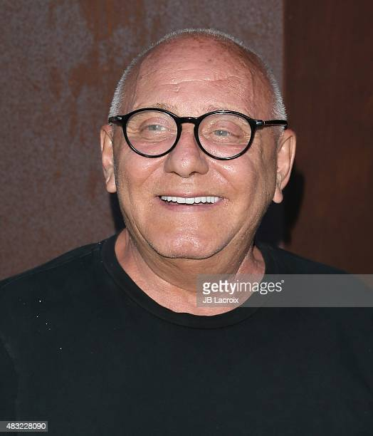 Max Azria attends the BCBG Max Azria Resort 2016 collections at Samuel Freeman Gallery on August 6 2015 in Los Angeles California