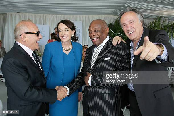 Max Azria Elisa Stephens President of the Academy of Art University Willie  Brown and Jean Paul ccd94d35a