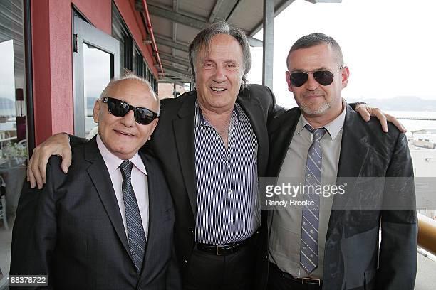 Max Azria Jean Paul Nataf and Simon Ungless attend a luncheon honoring Max  and Lubov Azria 1da4aee56