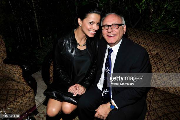 Max Azria Stephanie Abrams attend NICOLAS BERGGRUEN's 2010 Annual Party at the Chateau Marmont on March 3 2010 in West Hollywood California