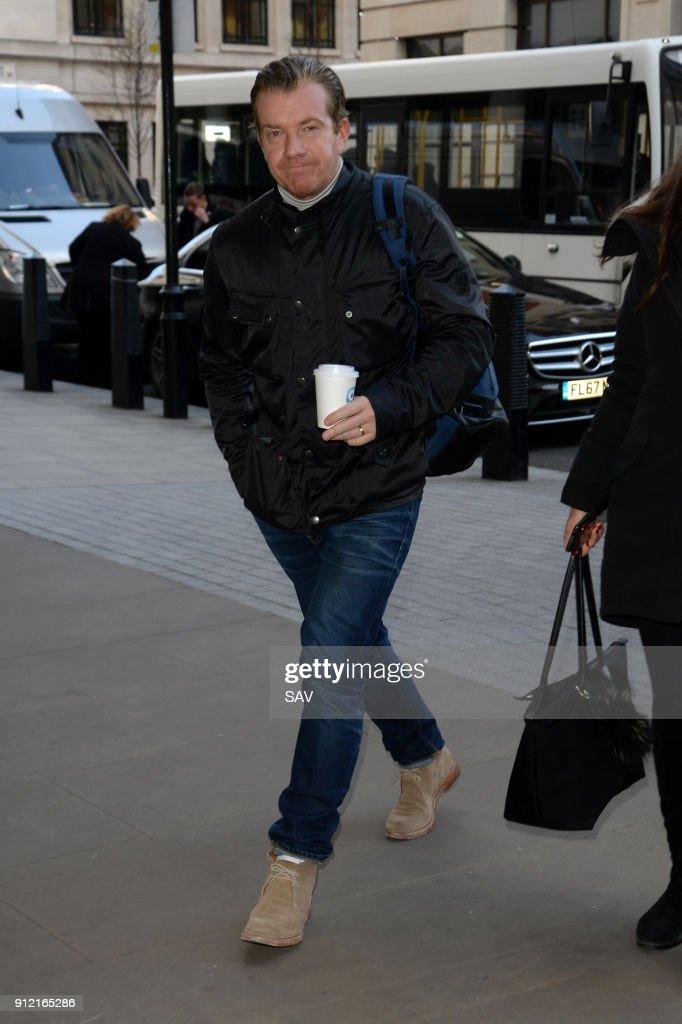 London Celebrity Sightings -  January 29, 2018