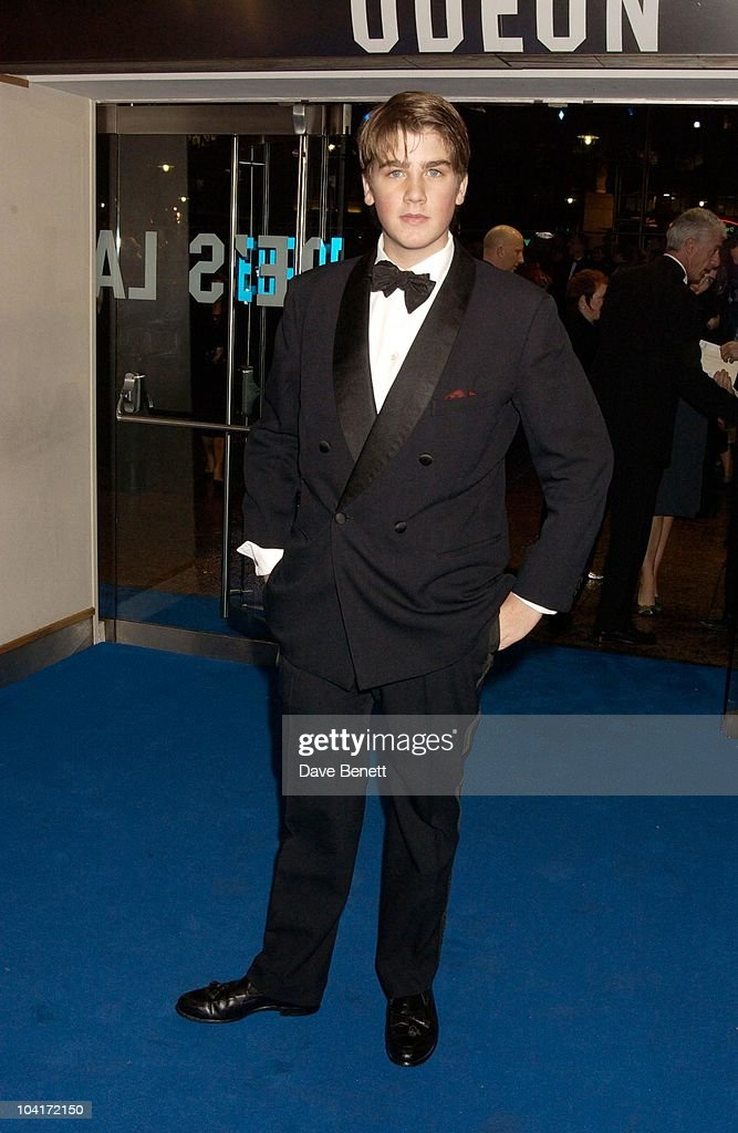 Max Benitz, 'Master And Commander: The Far Side Of The World' Royal Premiere At The Odeon Leicester Square, London