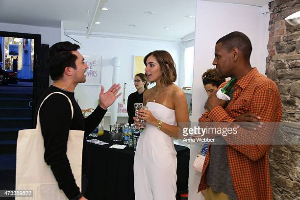 Max Berlinger Senior Editor at Detailscom/Conde Nast and Stylists Jasmine Caccamo and Kareem James attend EFM And Donrad Duncan At C'H'C'M' on May 14...