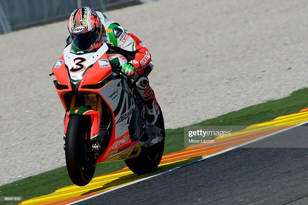Superbike Grand Prix of Valencia - Qualifying Practice 1