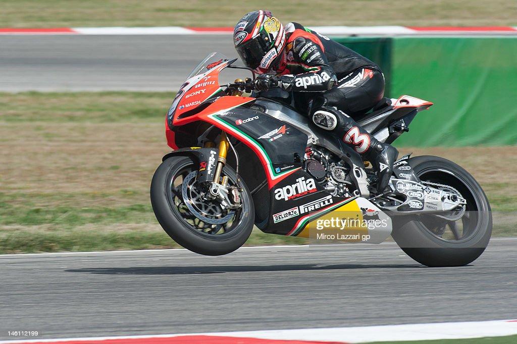 2012 Superbike FIM World Championship In Misano - Race