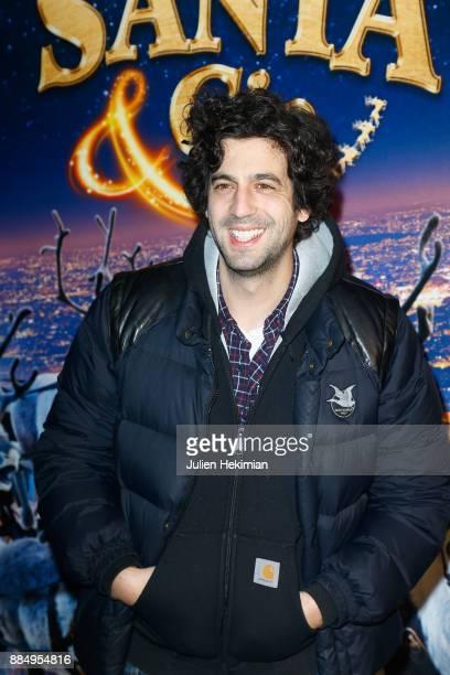 Max Boublil attends 'Santa Cie' Paris Premiere at Cinema Pathe Beaugrenelle on December 3 2017 in Paris France