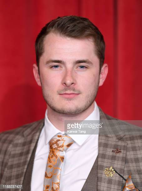 Max Bowden attends the British Soap Awards at The Lowry Theatre on June 01 2019 in Manchester England
