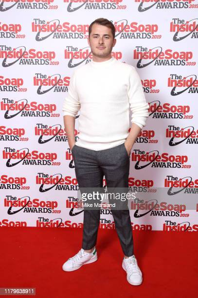 Max Bowden attends the Inside Soap Awards at Sway on October 07 2019 in London England