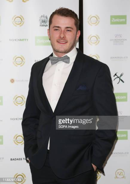 Max Bowden attends the National Film Awards 2019 at Porchester Hall in London