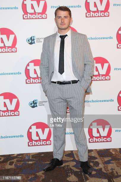 Max Bowden attends The TV Choice Awards 2019 at Hilton Park Lane on September 9 2019 in London England