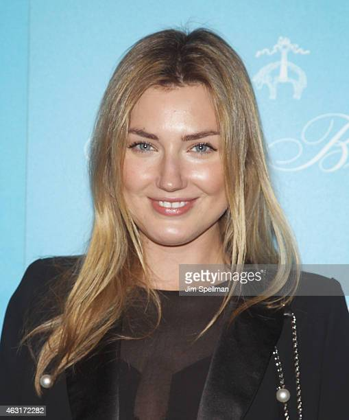 """Max Bowles attends The Cinema Society and Brooks Brothers host a screening of """"The Rewrite"""" at Landmark's Sunshine Cinema on February 10, 2015 in New..."""