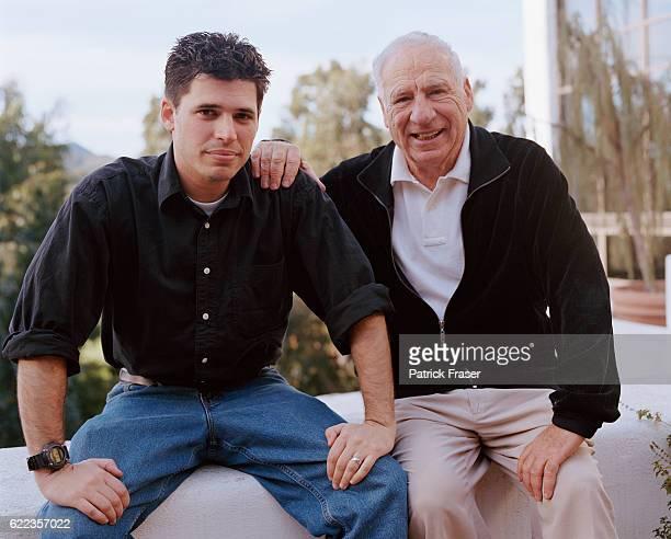Max Brooks and Father Mel Brooks