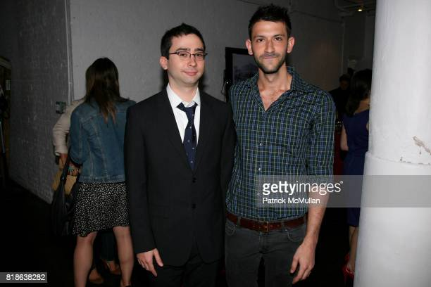 Max Brooks and Paul Arnhold attend The Junior Society of BALLET HISPANICO and BRIAN REYES host a Champagne Receptions at Brian Reyes Studio on June...