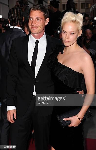 Max Brown and Annabelle Horsey arrive at the GQ Men of the Year Awards 2010 at the Royal Opera House on September 7 2010 in London England