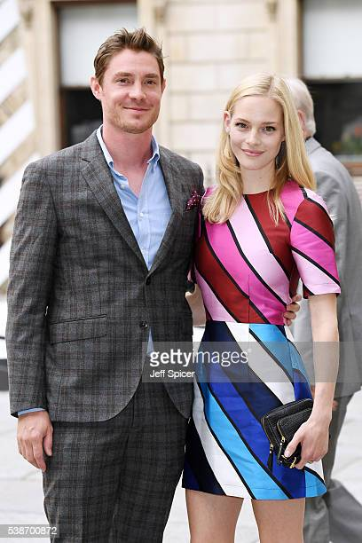 Max Brown and Annabelle Horsey arrive for the VIP preview of the Royal Academy of Arts Summer Exhibition 2016 at Royal Academy of Arts on June 7 2016...