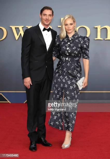 Max Brown and Annabelle Horsey attend the Downton Abbey World Premiere at Cineworld Leicester Square on September 09 2019 in London England