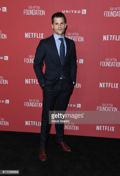 Max Carver attends the SAGAFTRA Foundation Patron of the Artists Awards 2017 at the Wallis Annenberg Center for the Performing Arts on November 9...