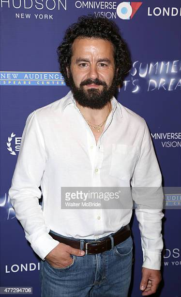 Max Casella attends 'A Midsummer Night's Dream' New York premiere at DGA Theater on June 15 2015 in New York City