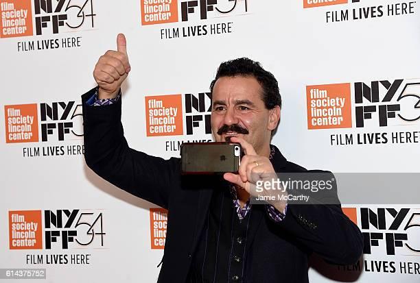 Max Casella attends the 54th New York Film Festival 'Jackie' screening intro and QA at Alice Tully Hall Lincoln Center on October 13 2016 in New York...