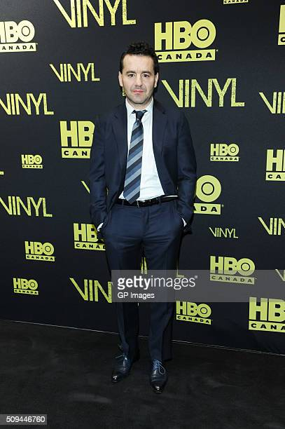 Max Casella attends the Canadian Red Carpet Premiere Of 'Vinyl' at TIFF Bell Lightbox on February 10 2016 in Toronto Canada