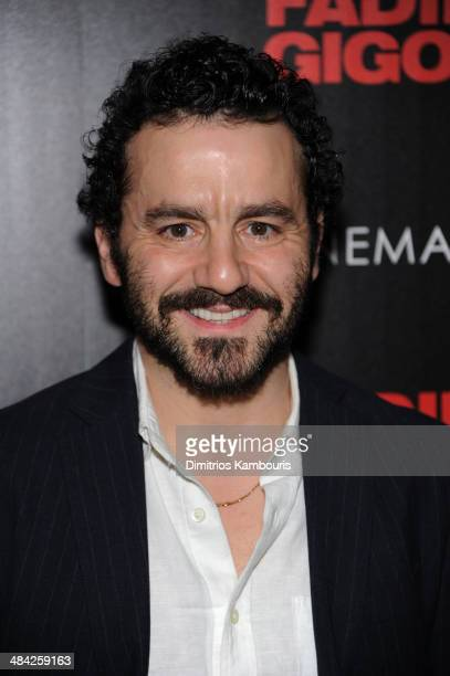 Max Casella attends The Cinema Society Women's Health screening of Millennium Entertainment's 'Fading Gigolo'at SVA Theater on April 11 2014 in New...