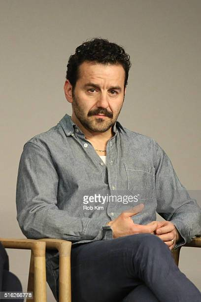 Max Casella attends the Meet The Filmmaker event to discuss the series 'Vinyl' at Apple Store Soho on March 17 2016 in New York City