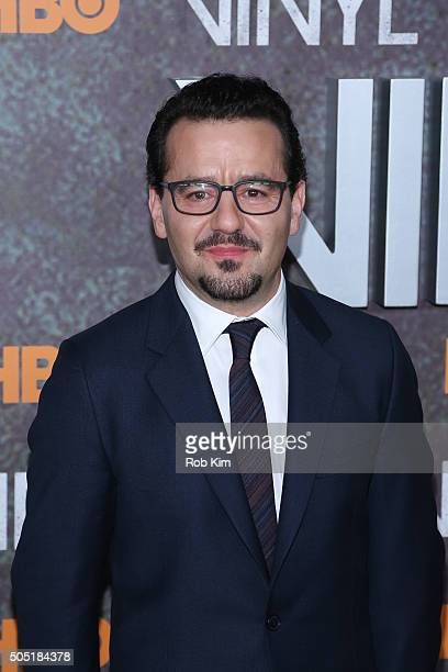 Max Casella attends the New York Premiere of 'Vinyl' at Ziegfeld Theatre on January 15 2016 in New York City