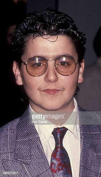 Max Casella attends the screening of Ed Wood on September 27 1994 at the Galaxy Theater in Hollywood California