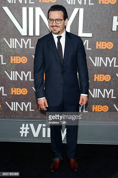 Max Casella attends the 'Vinyl' New York premiere at Ziegfeld Theatre on January 15 2016 in New York City