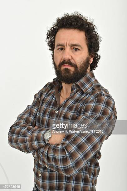 Max Casella from 'Applesauce' appears at the 2015 Tribeca Film Festival Getty Images Studio on April 21 2015 in New York City