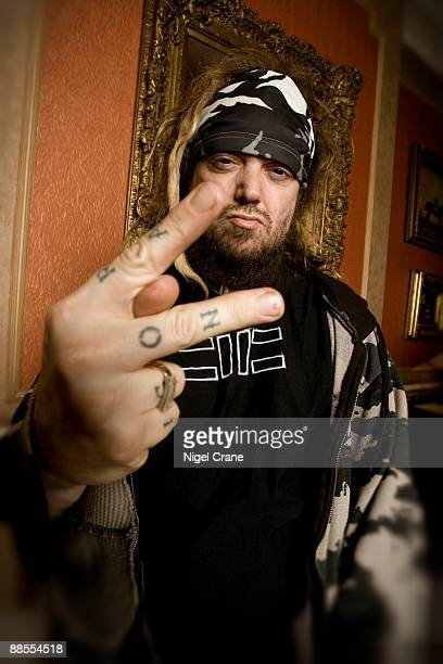Max Cavalera singer and guitar player with Brazilian bands Cavalera Conspiracy Sepultura and Soulfly poses for a portrait in London on January 23 2008